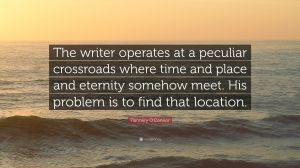 flannery oconnor quote writer problem