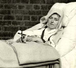 st. therese death bed